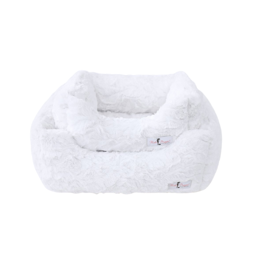 Hello Doggie Bella Plush Nesting Lounge Bed — Heaven