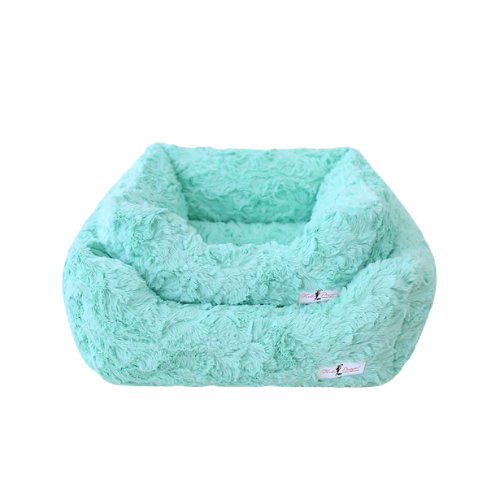 Hello Doggie Bella Plush Nesting Lounge Bed — Mint