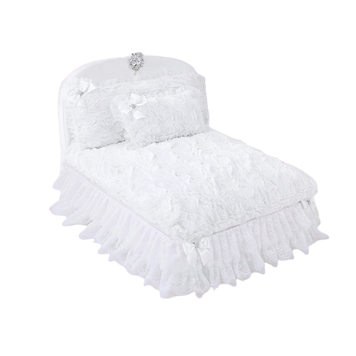 Hello Doggie Enchanted Nights Glamorous Dog Bed — Snow White