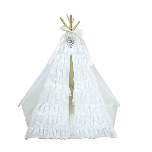Hello Doggie Lullaby Dog Teepee Bed