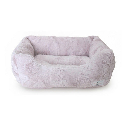 Hello Doggie Luxe Lounger Nesting Dog Bed Blush Large