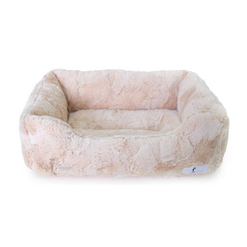 Hello Doggie Luxe Lounger Nesting Dog Bed Sand Large