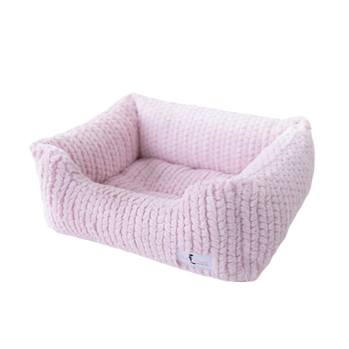 Hello Doggie Paris Lounger Nesting Dog Bed — Rosewater