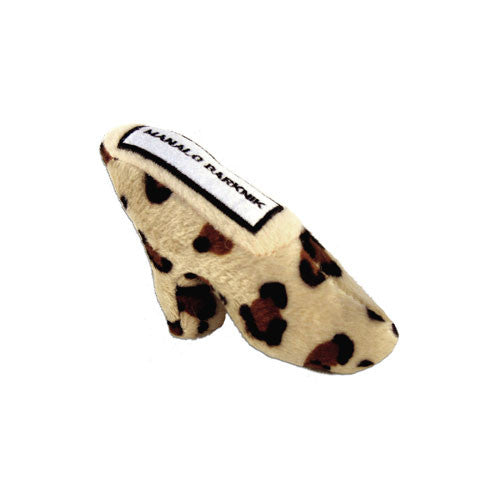 Haute Diggity Dog Manalo Barknik Shoe Designer Plush Dog Toy Small