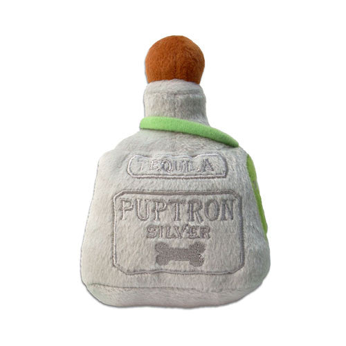 Haute Diggity Dog Puptron Tequila Bottle Designer Plush Dog Toy