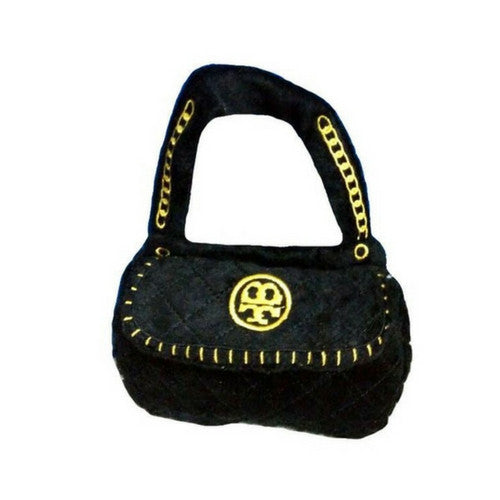 Haute Diggity Dog Tory Bark Handag Purse Designer Plush Dog Toy