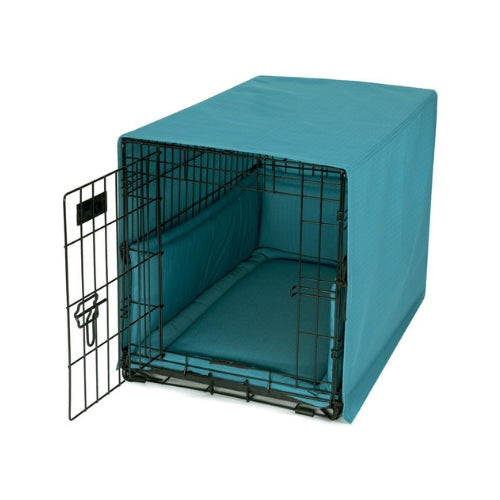Jax & Bones Bay Occasional Outdoor Luxury Dog Crate Cover Set — Caribbean On Crate