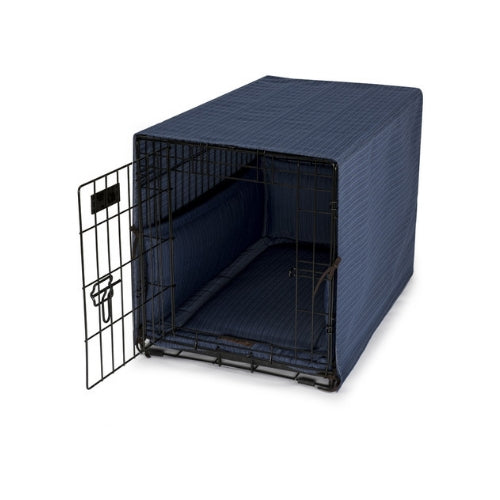 Jax & Bones Bay Occasional Outdoor Luxury Dog Crate Cover Set — Ocean On Crate