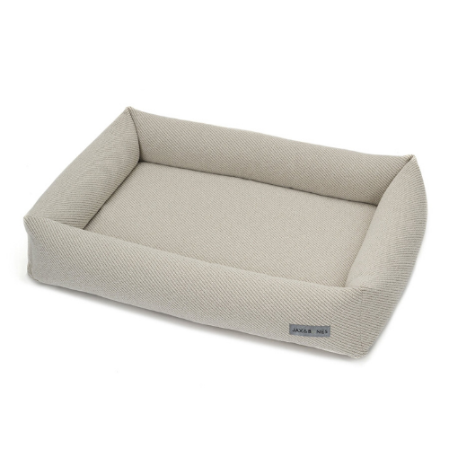 Jax & Bones Memory Foam Cuddler Orthopedic Dog Bed — Bailey Bisque