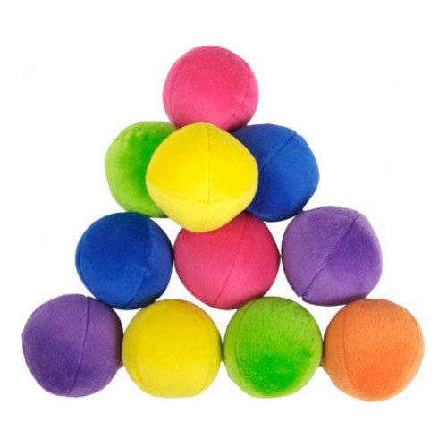 Loopies Bag-O-Balls Plush Squeaky Dog Toys
