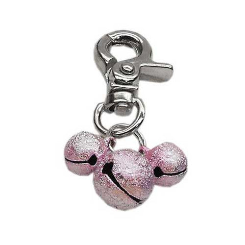 Bell Collar Charm — Pink