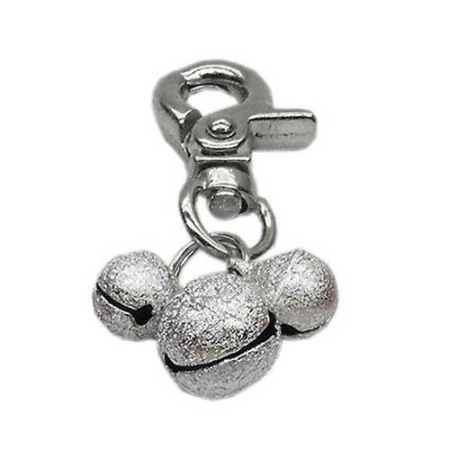 Mirage Pet Products Bell Dog Collar Charm — Silver
