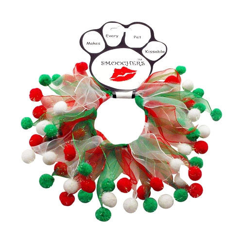 Christmas Fuzzy Wuzzy Smoocher Dog Party Neckwear