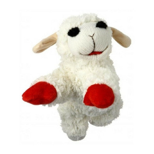 Multipet Lambchop Plush Squeaky Dog Toy