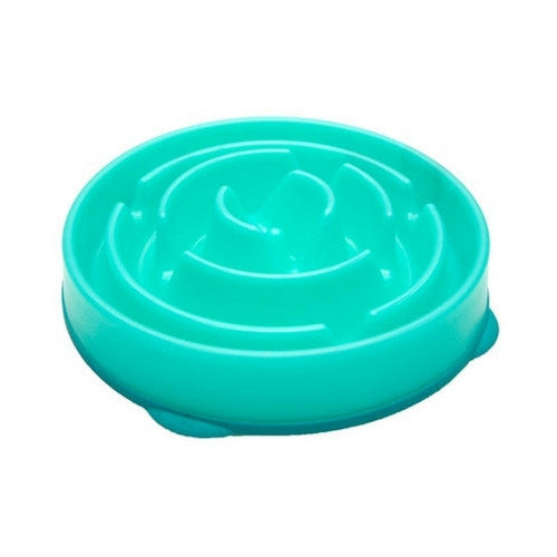 Outward Hound Fun Feeder Interactive Slow Feed Bowl — Drop