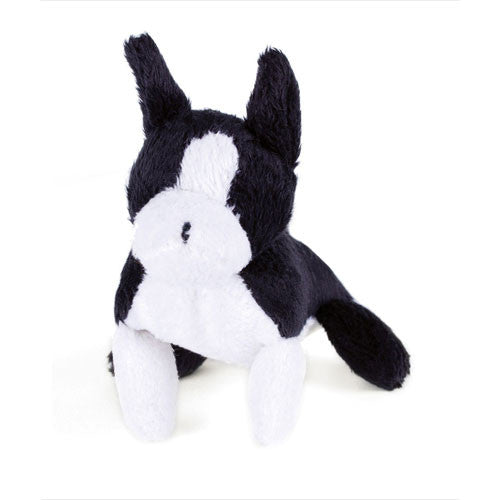 Oscar Newman Pipsqueak Puppy Small Breed Squeaky Dog Toy — Boston Terrier