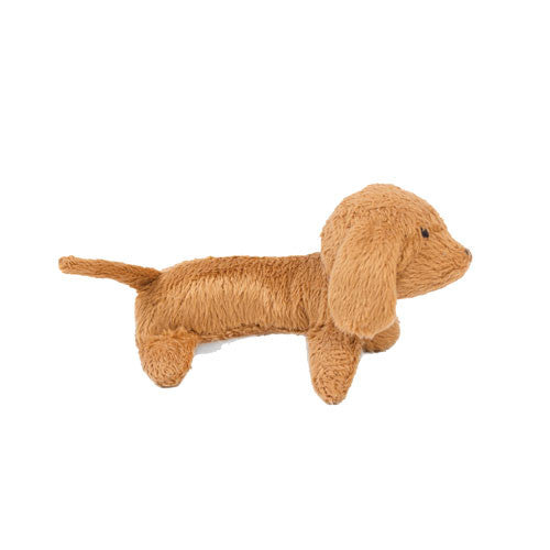 Oscar Newman Pipsqueak Puppy Small Breed Squeaky Dog Toy — Dachshund