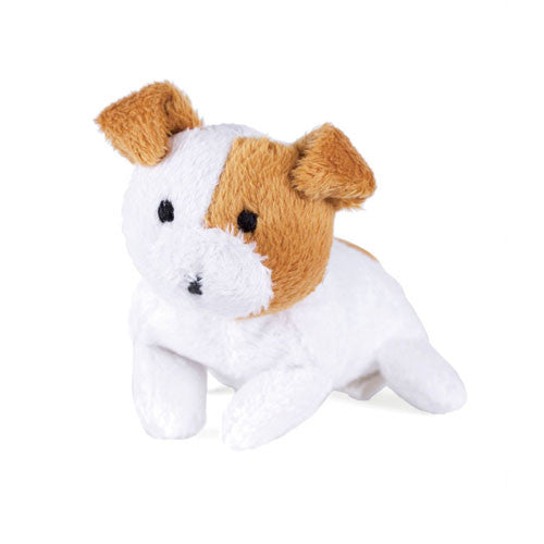 Oscar Newman Pipsqueak Puppy Small Breed Squeaky Dog Toy — Jack Russell
