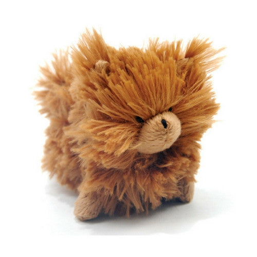 Oscar Newman Pipsqueak Puppy Small Breed Squeaky Dog Toy — Pomeranian