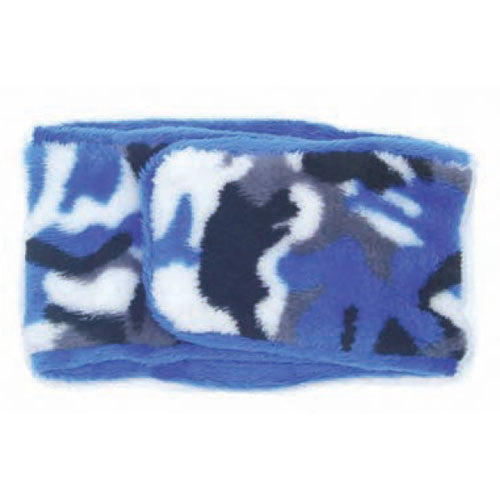 Oscar Newman Camouflage Boy Dog Incontinence Belly Band — Blue