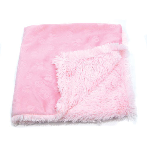 Oscar Newman Sweet Dreams Blankie Dog Blanket — Pink