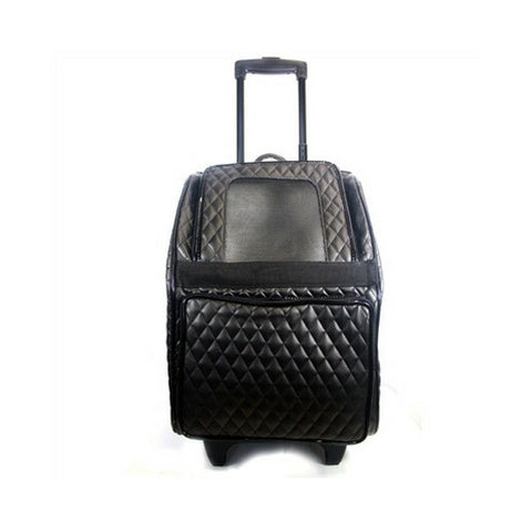 Rio Roller Bag — Black Quilted