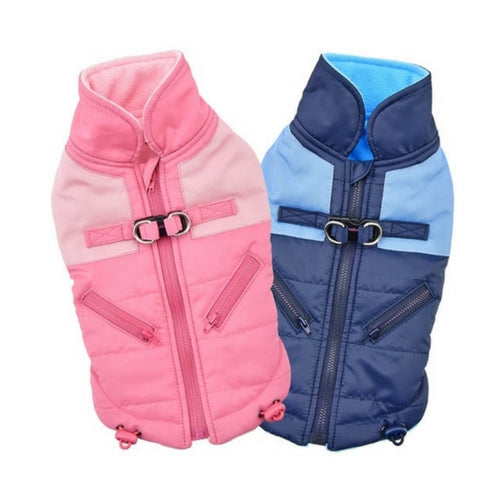 Pinkaholic New York Tintin Winter Dog Harness Coat All Colors