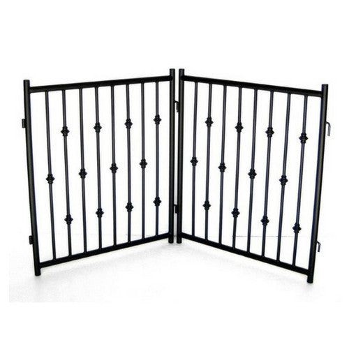 Emperor Ring Free Standing Metal Gate