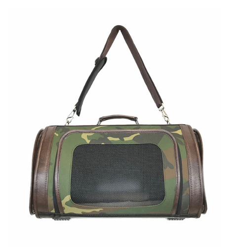 PETOTE Kelle Airline Approved Dog Travel Carrier — Camo
