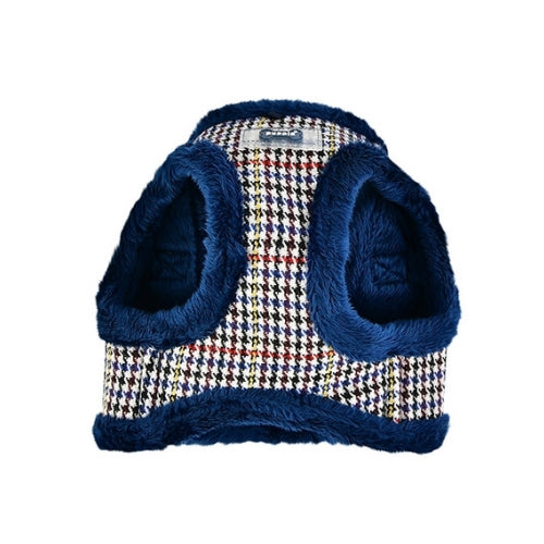 PUPPIA Auden Vest Dog Harness Blue Front View