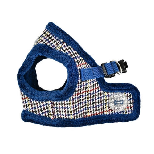 PUPPIA Auden Vest Dog Harness Blue Side View