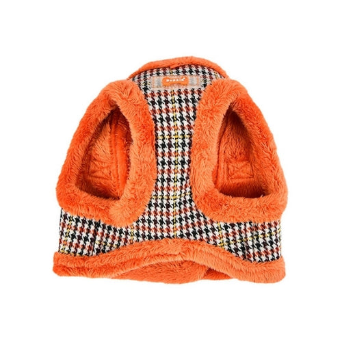 PUPPIA Auden Vest Dog Harness Orange Front View