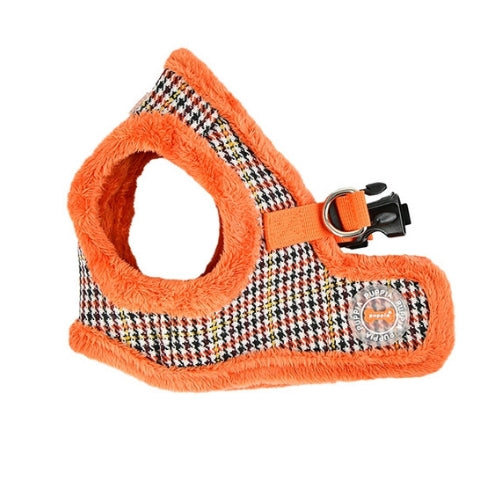 PUPPIA Auden Vest Dog Harness Orange Side View