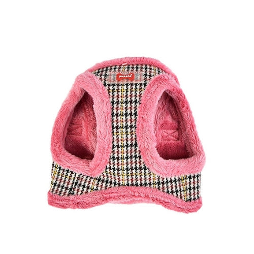 PUPPIA Auden Vest Dog Harness Pink Front View