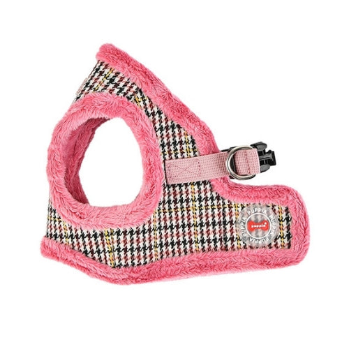 PUPPIA Auden Vest Dog Harness Pink Side View