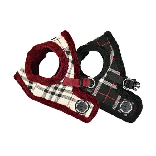 PUPPIA Classic Plaid Dean Vest Dog Harness All Colors