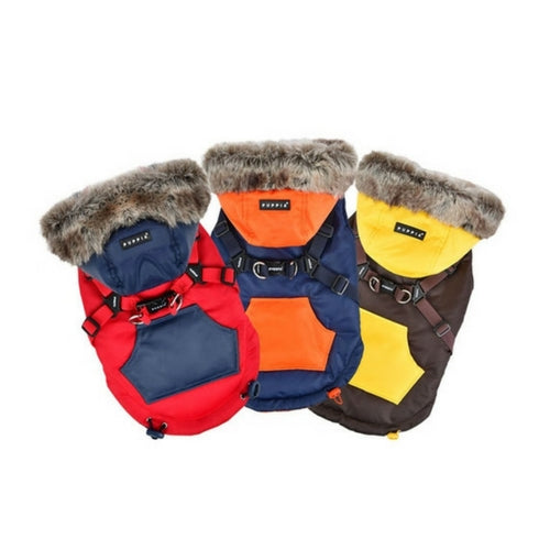 PUPPIA Life Orson Winter Active Dog Coat Harness All Colors