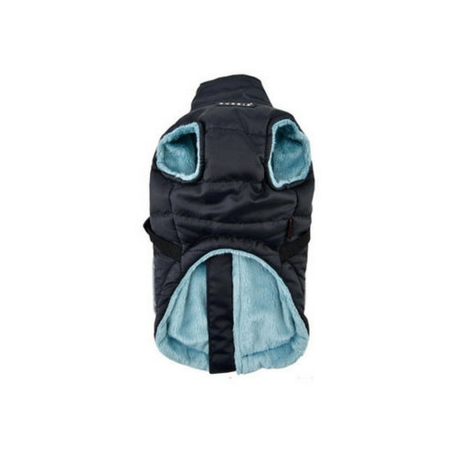 PUPPIA Life Pioneer Winter Active Dog Coat Harness Black Front View