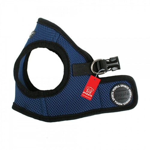 PUPPIA Soft Vest B Air Mesh Adjustable Dog Harness — Royal Blue