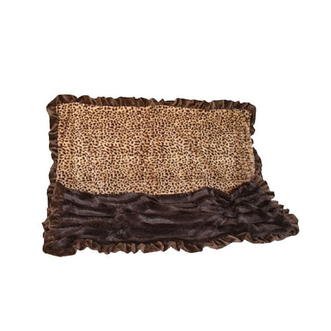 Cuddle Blanket — Brown Cheetah / Brown