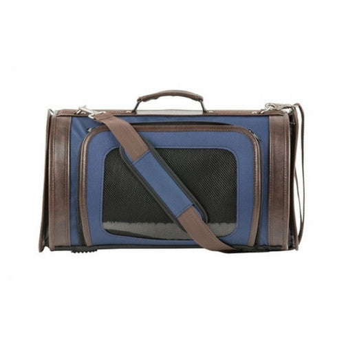 PETOTE Kelle Airline Approved Dog Travel Carrier — Navy Blue