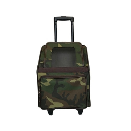 PETOTE Rio Roller Bag Dog Travel Carrier — Camouflage