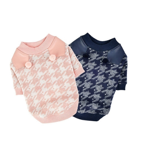Pinkaholic New York Mirabelle Houndstooth Dog Tee Shirt All Colors