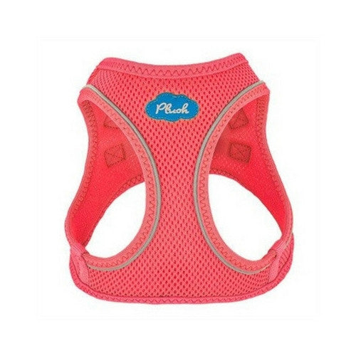 Plush Step In Air Mesh Vest Dog Harness — Bubblegum Pink