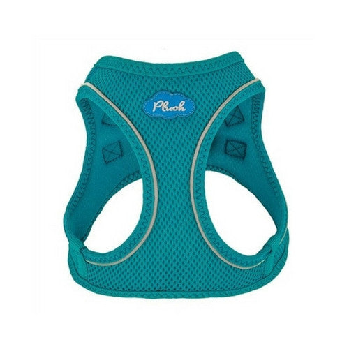 Plush Step In Air Mesh Vest Dog Harness — Horizon Blue