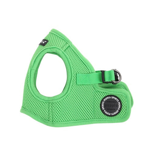 PUPPIA Soft Vest B Air Mesh Adjustable Dog Harness — Green