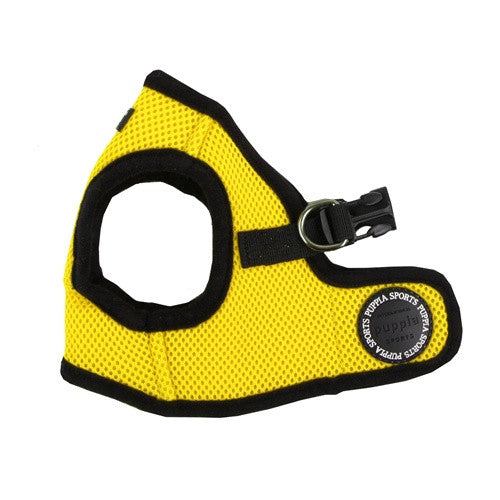 PUPPIA Soft Vest B Air Mesh Adjustable Dog Harness — Yellow