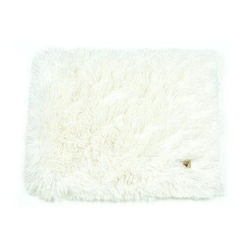 Susan Lanci Designs Plush Blanket — Shag Cream