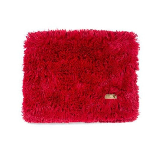 Susan Lanci Designs Plush Blanket — Shag Red