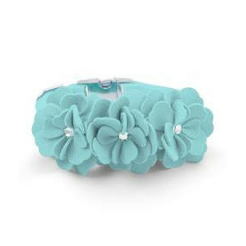 Tinkie's Garden Party Collar — Tiffi Blue